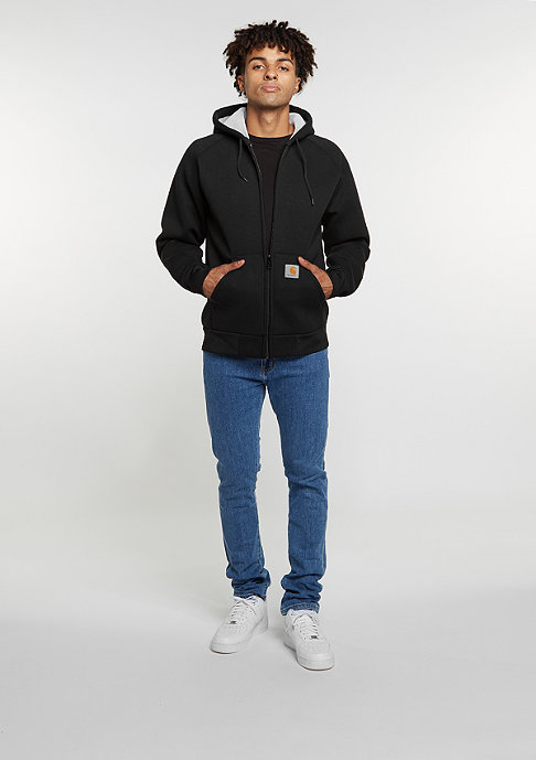 Carhartt WIP Car-Lux Hooded black/grey