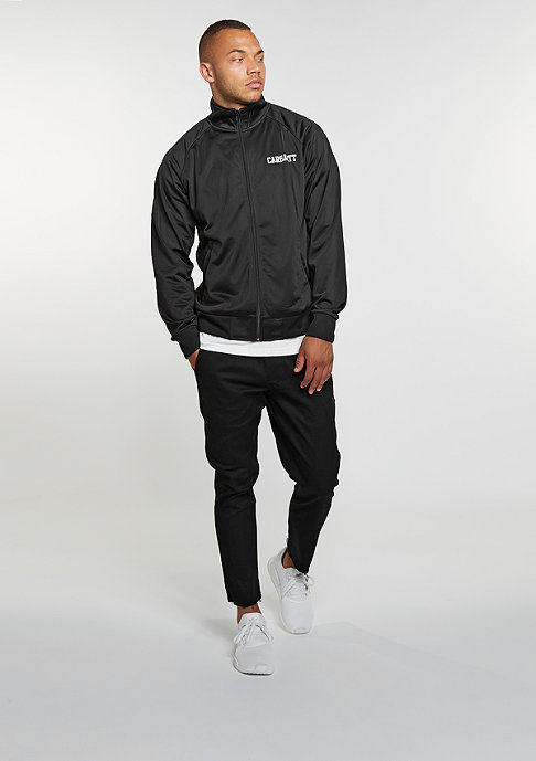 Carhartt WIP College Track Jacket black/white