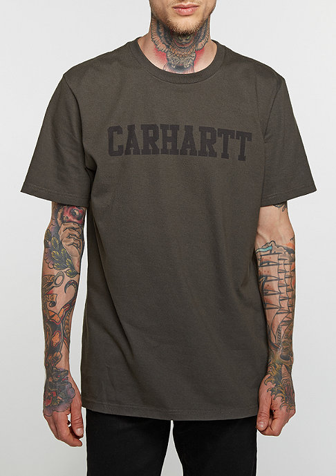 Carhartt WIP T-Shirt College cypress/black
