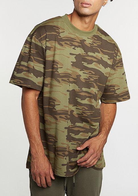 Future Past T-Shirt Oversized camo