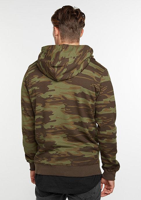 Flatbush Hooded-Sweatshirt Highneck camo
