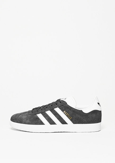 adidas Schuh Gazelle solid grey/white/gold metal