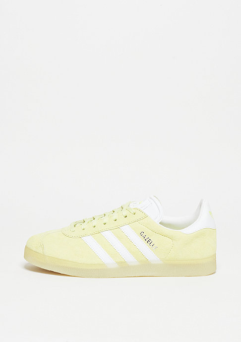 adidas Gazelle ice yellow/white/metallic silver