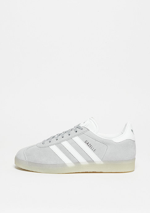 adidas Gazelle mid grey/white/metallic silver