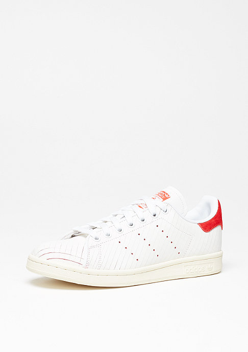 adidas Stan Smith white/white/collegiate red