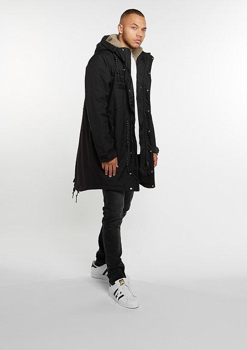 adidas Quilt Fur Parka black