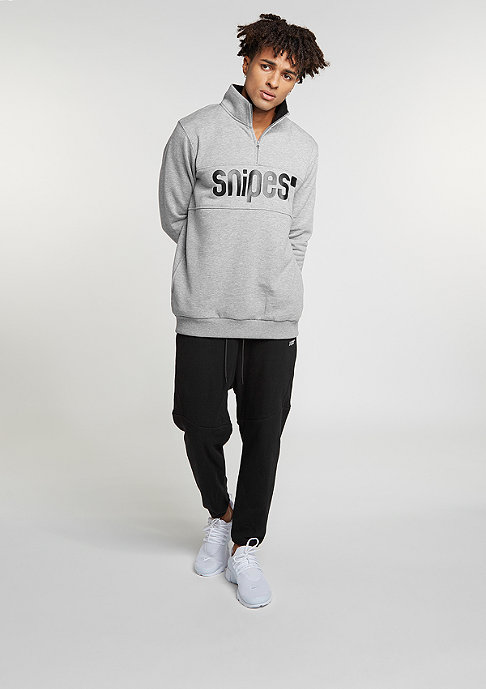 SNIPES Interlock Cropped black