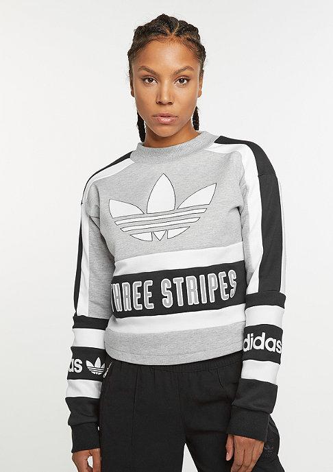 adidas Sweatshirt medium grey heather