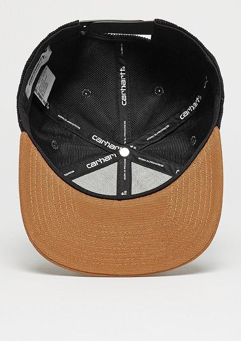 Carhartt WIP Snapback-Cap Gibson Starter black/hamilton brown