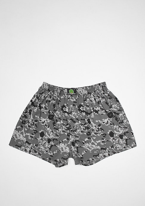Treesome Boxershort Camo grey/black