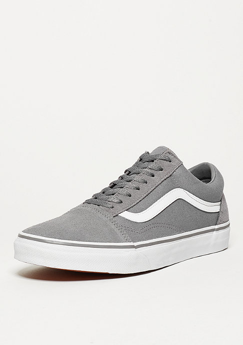 VANS Old Skool Suede Canvas frost grey/true white