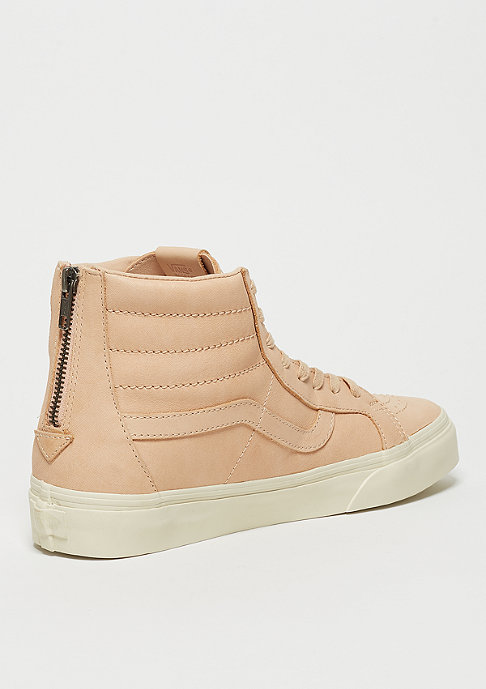 VANS Sk8-Hi Reissue Zip DX Veggie Tan Leather tan