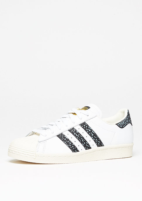 adidas Superstar 80s white/vapour green/off white