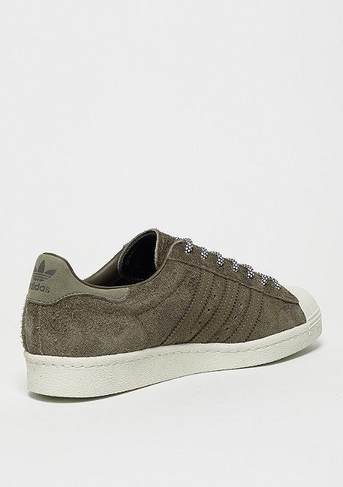 adidas Superstar 80s chalk white/simple brown/chalk white