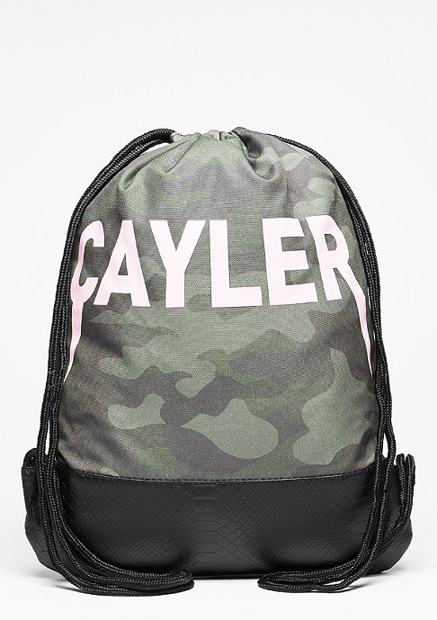 Cayler & Sons C&S Gymbag Partners In Crime woodland/light pink/black