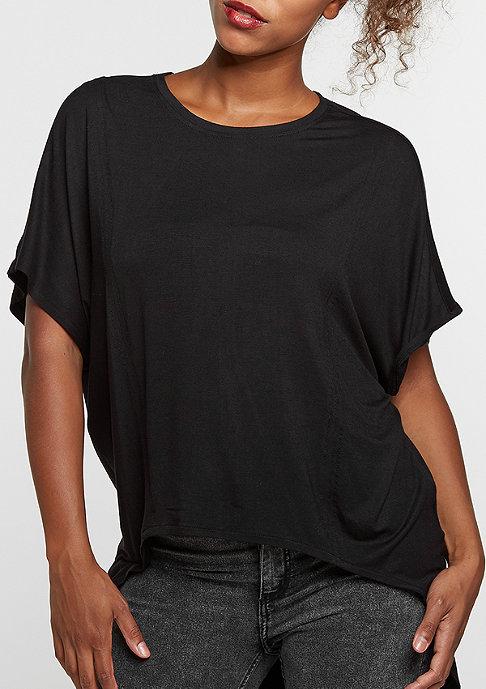 Urban Classics T-Shirt Viscose Oversized HiLo black