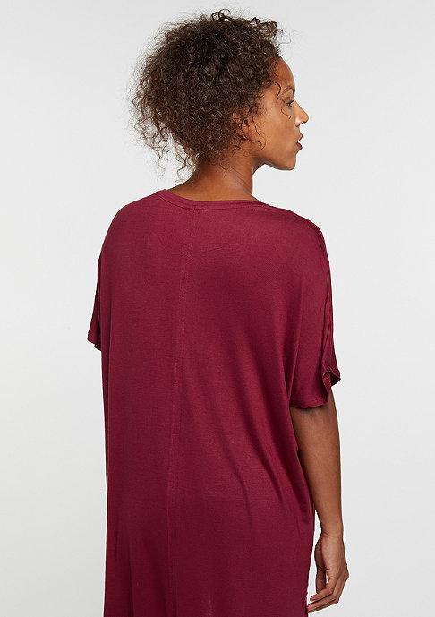 Urban Classics Viscose Oversized HiLo burgundy