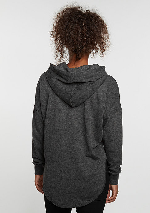 Urban Classics Hooded-Sweatshirt Oversized Terry charcoal