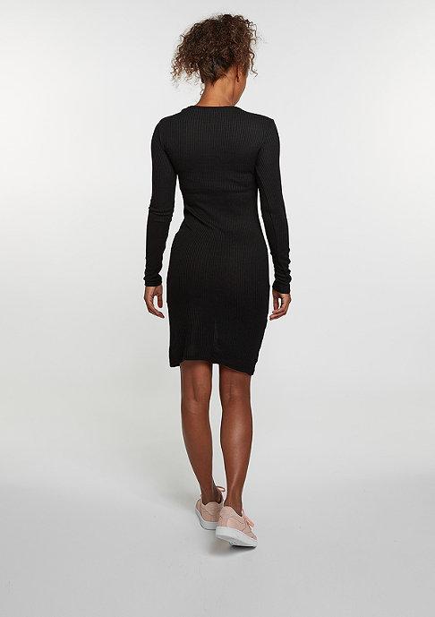 Urban Classics Kleid Rib Dress black