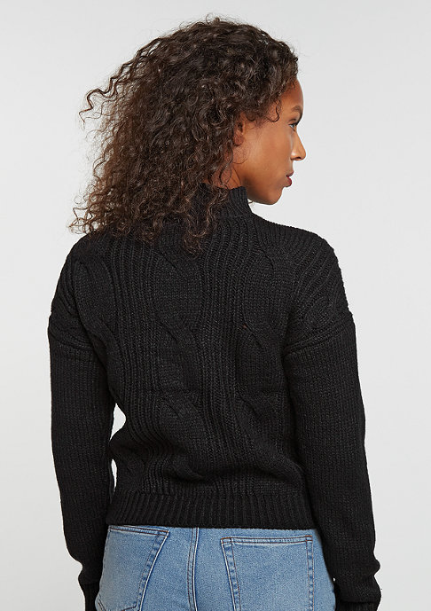 Urban Classics Short Turtleneck black