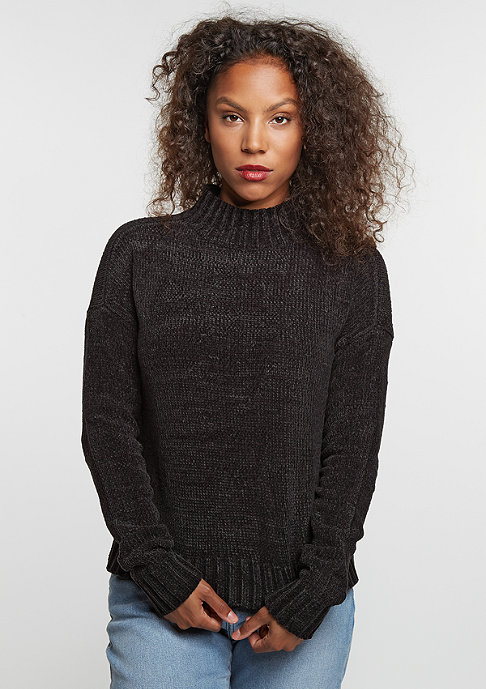 Urban Classics Sweatshirt Chenille Turtleneck black