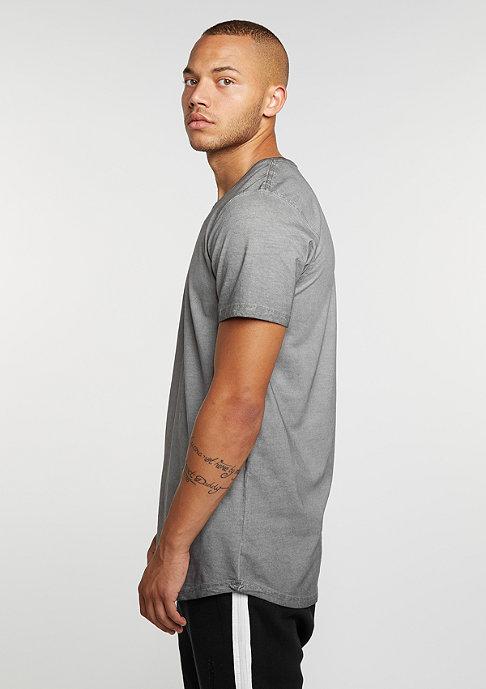 Urban Classics T-Shirt Shaped Long Cold Dye dark grey
