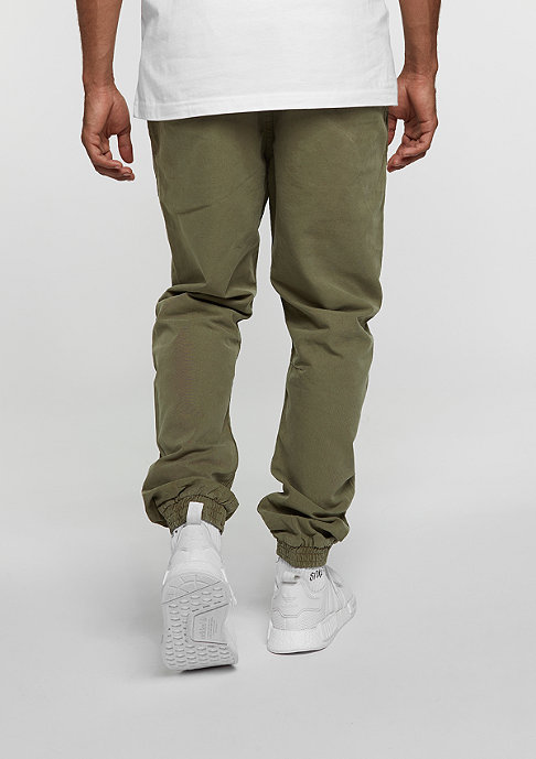 Urban Classics Washed Canvas olive