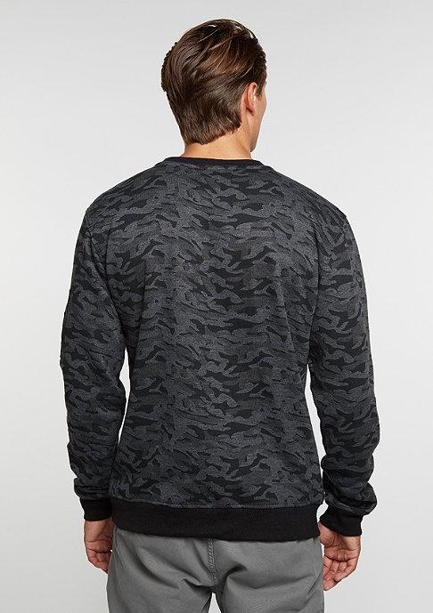 Urban Classics Sweatshirt Camo Bomber dark camo