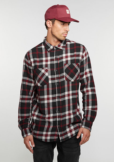 Urban Classics Checked Flanell 3 black/white/red
