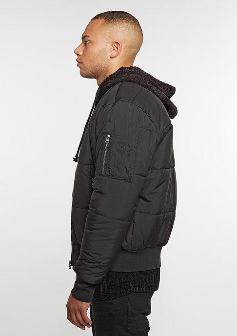 Urban Classics Basic Quilt Bomber black