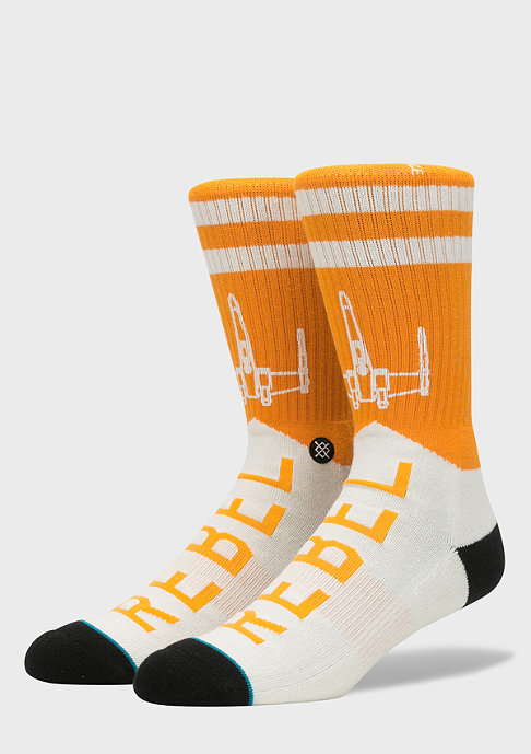 Stance Fashionsocke Star Wars Varsity Rebel orange