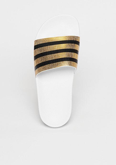 adidas Adilette gold metallic