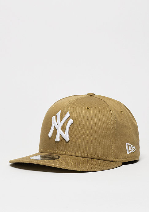 New Era Snapback-Cap League Essential MLB New York Yankees wheat