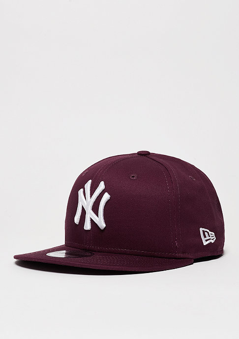 New Era Snapback-Cap League Essential MLB New York Yankees maroon