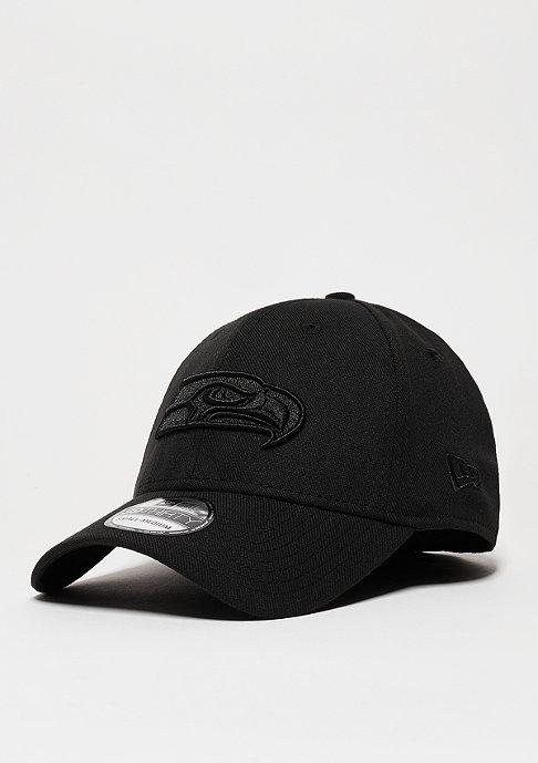 New Era Baseball-Cap BOB Team Wool NFL Seattle Seahawks black/black