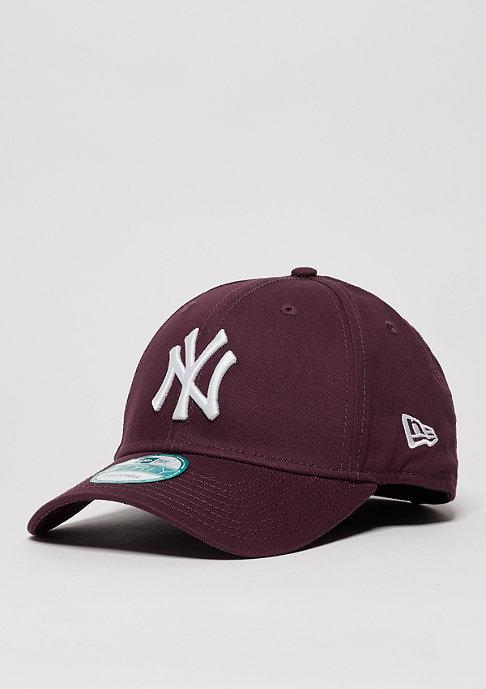 New Era Baseball-Cap League Essential MLB New York Yankees maroon