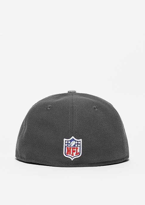 New Era Ballistic Visor NFL Oakland Raiders grey