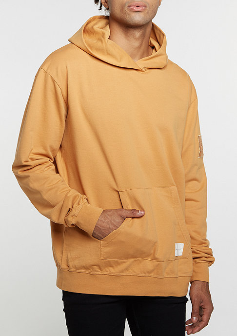Criminal Damage Hooded-Sweatshirt Desert gold/tan