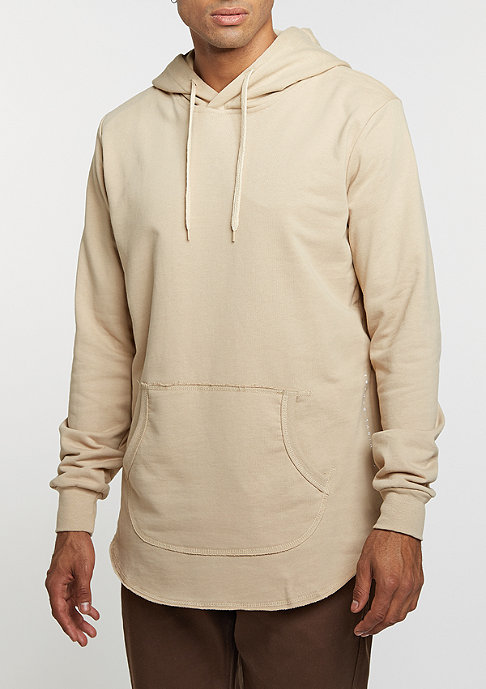 Criminal Damage Hooded-Sweatshirt Baller L/S nude/nude