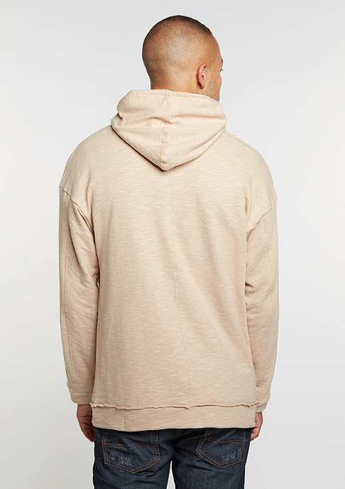 Criminal Damage Hooded-Sweatshirt Trek Fleek nude/nude