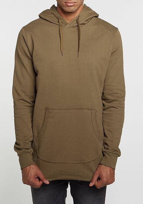 Criminal Damage Hooded-Sweatshirt Baller L/S olive/olive