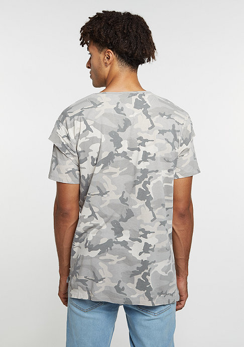 Criminal Damage CD Tee Cut camo/stone