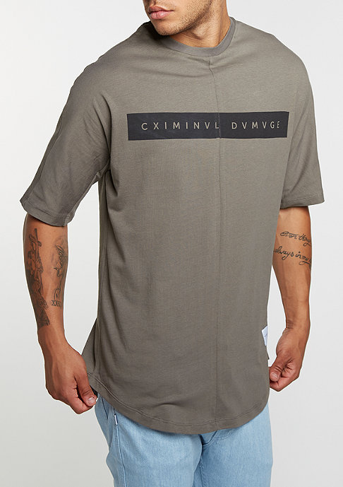 Criminal Damage T-Shirt Mac slate/slate