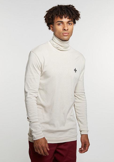 Criminal Damage Sweatshirt Polo Neck Fleur light/nude