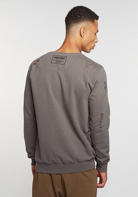 Criminal Damage Sweatshirt Shoreditch slate/slate