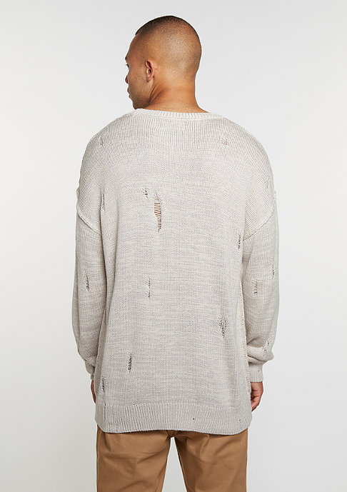 Criminal Damage Sweatshirt Chapel stone/grey