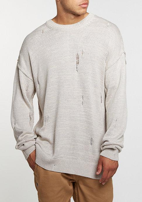 Criminal Damage CD Sweater Chapel stone/grey
