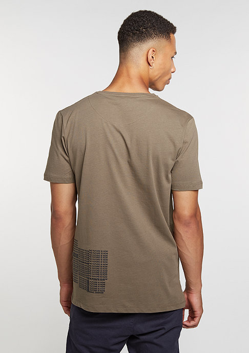 Criminal Damage T-Shirt Now mushroom/black