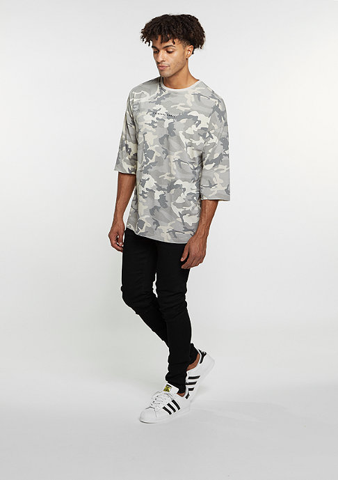 Criminal Damage CD Top Hunter L/S camo/stone