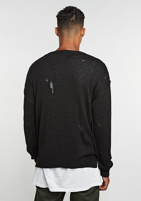 Criminal Damage CD Sweater Chapel black/black